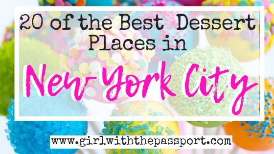 20 Best Dessert Places in New York City