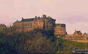 One of the many amazing views of Edinburgh Castle.