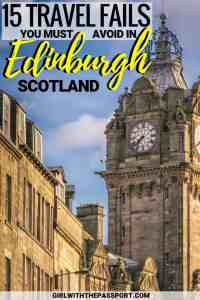 If you are planning some Edinburgh Scotland travel and looking for fun, Edinburgh Scotland things to do, then this post is for you. This list contains all the essential travel hacks and travel tips that you will need before you explore this beautiful city. #Scotland #Edinburgh #Europe #travel #wanderlust
