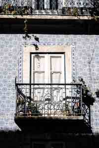 Just some of the amazing tile work you'll see in Lisbon, Portugal.