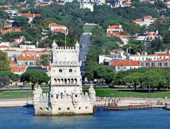 Belem Tower in Lisbon, Portugal is amazing but a trip to the top is not necessary.
