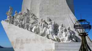 Padrão dos Descobrimentos is a beautiful statue and a fantastic tribute to all the Portuguese explorers of the past.