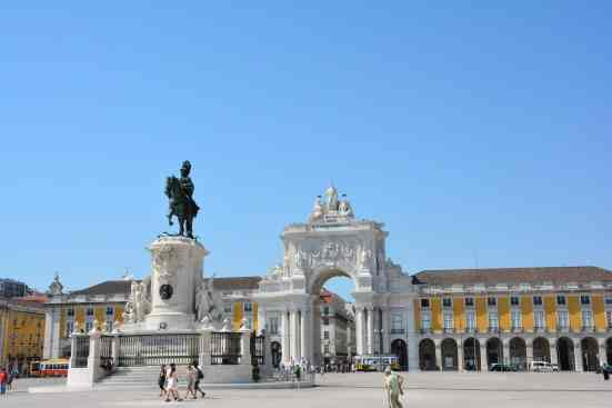 The beautiful and exquisite, Comércio Square should be on everyone's 3 day Lisbon itinerary.