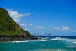 The incredible natural beauty of the Gold Coast in Australia.