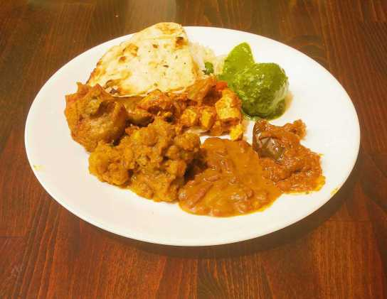 Some of the amazing Indian food that you'll enjoy from Utsav's sumptuous, brunch buffet.