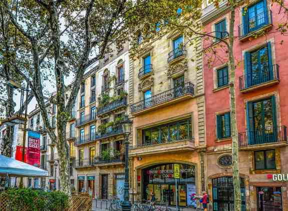 When traveling to Barcelona, one of my top Barcelona tips is to have your debit card with you at all times.