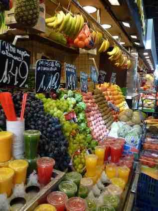 Barcelona has amazing food, juts not along Las Rambles.