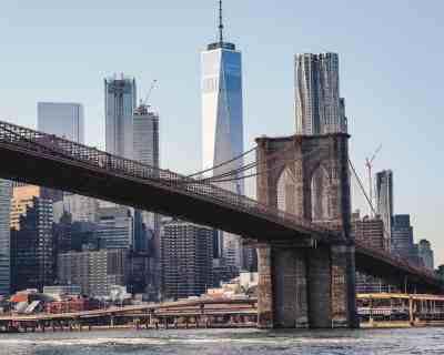 The eternal beauty of the iconic Brooklyn Bridge.