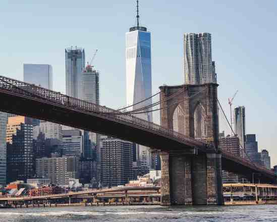 The eternal beauty of the iconic Brooklyn Bridge. And you'll enjoy it if you live by these New York City travel tips.