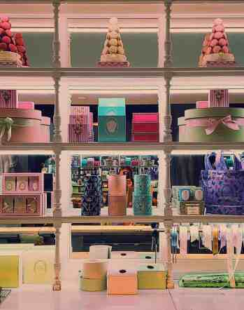 The macarons at Laduree are a must for any foodie in NYC