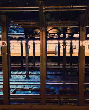 The NYC subway is the easiest and most efficient way to get around.