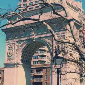 Washington Square Park is just one of the many beautiful places in New York City.