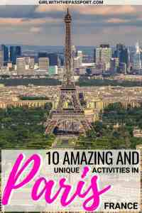 When you think of Paris travel, you may think of the Louvre, the Eiffel Tower, Notre Dame, and the Arc de Triomphe. But what else does Paris have to offer? In this Paris travel guide, discover some Paris travel tips about totally unique Paris attractions where you can avoid the crowds and see this amazing city in an entirely new way. #paris #france #europe #travel #wanderlust