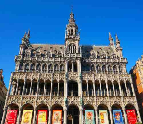 One of the many charming buildings you'll find in the Grand Place.