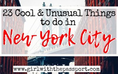 23 Cool and Unusual Things to do in New York City