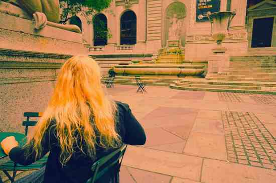 The New York Public Library is one of my favorite places to sit, relax, and watch the world walk by.