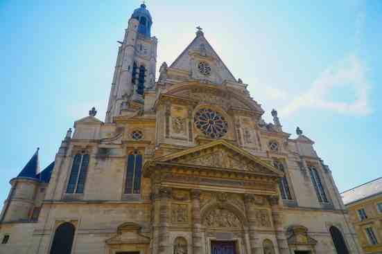The beauty of Eglise Saint Severin in Paris.