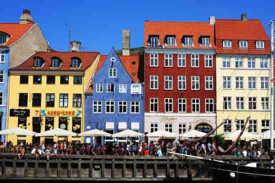 I never get tired of the charming beauty of Nyhavn in Copenhagen, Denmark.
