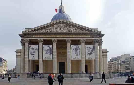 The awe-inspiring beauty of the Pantheon in Paris.