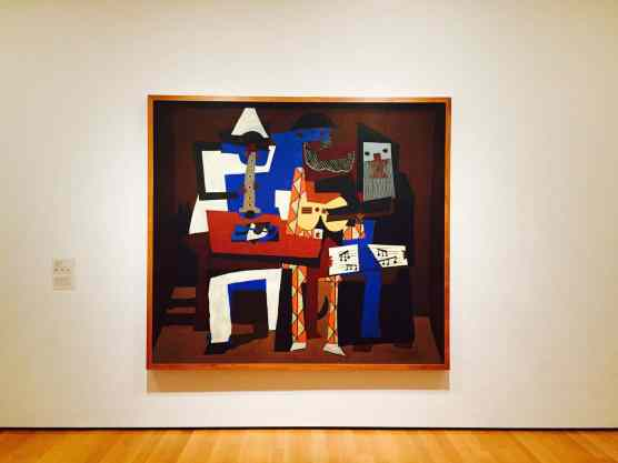 One of Picasso's many masterpieces. And they say he's pretty fly for a white guy.
