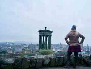 I'm not a morning person but it was definitely worth getting up early to enjoy the view atop Calton Hill.