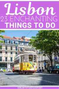 From exquisite beaches to enchanting architecture, there are so many exciting things to do in Lisbon. So if you're wondering what to do in Lisbon, then check out this destination guide. You'll find some secret Lisbon travel tips about the best things to do in Lisbon. You'll also learn about some unique things to do in Lisbon, and about some of the best places to eat in Lisbon. #Lisbontravel #Lisbonguide #Lisbontips #LisbonPortugal #Lisbon itinerary