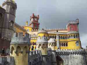 Palácio Nacional da Pena is a magnificent palace in Sintra and one of the top things to see in Lisbon if you're going on a day trip.