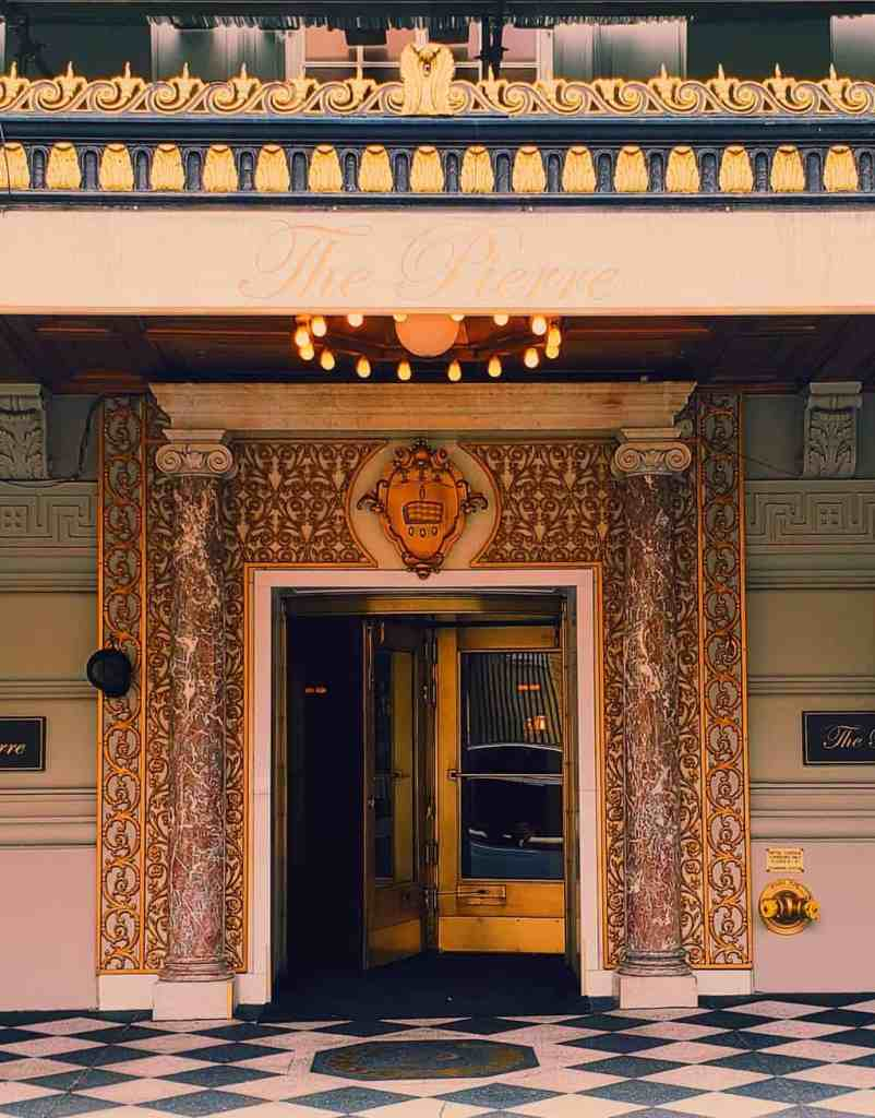 The immortal beauty of the Pierre Hotel, one of the best Upper East Side Hotels.