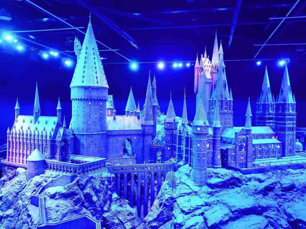 The beauty of Hogwarts Castle at the Harry Potter Studio Tour.