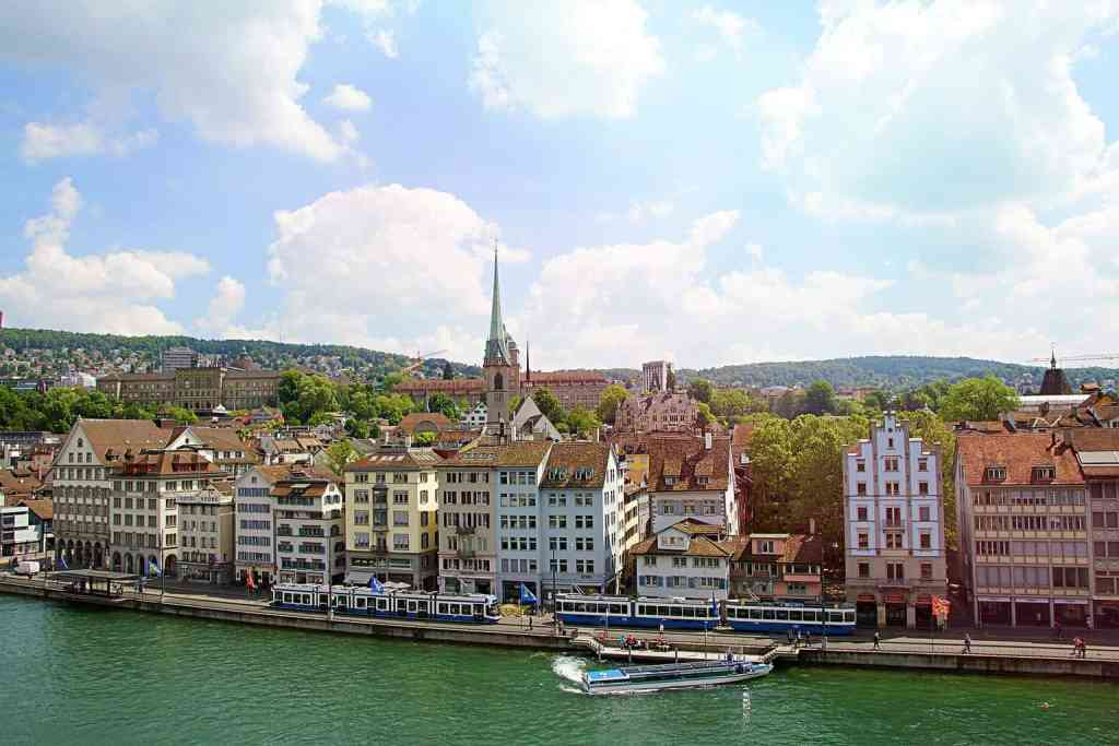 Just some of the beautiful sights you'll see during a Limmat River Cruise.