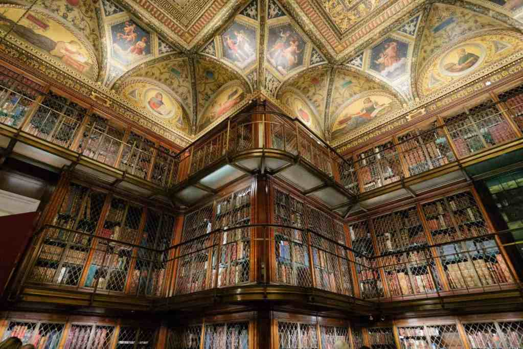 The library beauty of The Morgan Library is every book lover's dream.