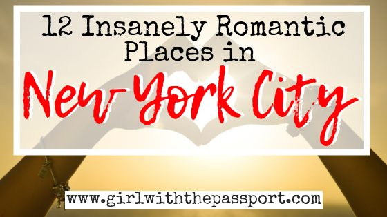 12 Romantic Places in NYC