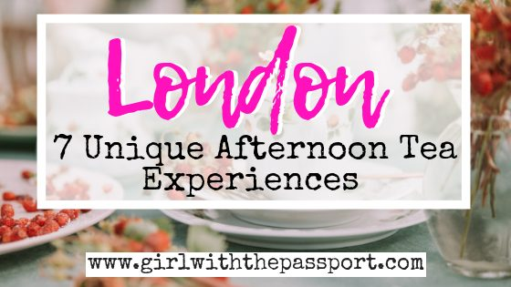 Quirky Afternoon Tea in London: 7 Themed Afternoon Tea London Experiences