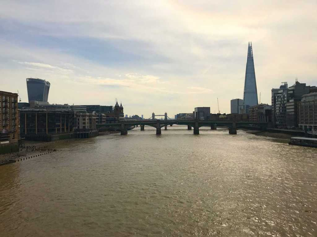 The Thames Path is a great way tp explore London and experience the amazing diversity within the city.