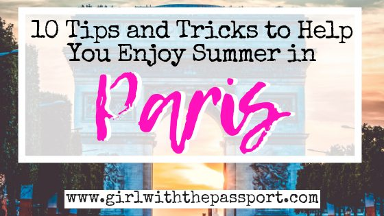 How to Survive Paris in the Summer
