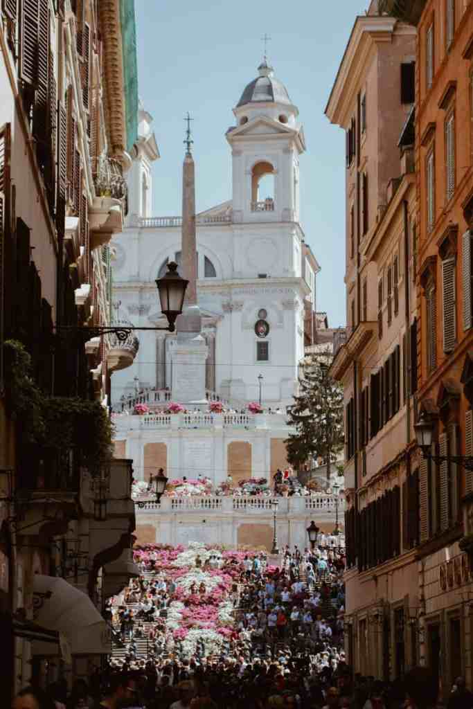 The beauty of Rome is timeless, with amazing places to explore like Piazza di Spagna.