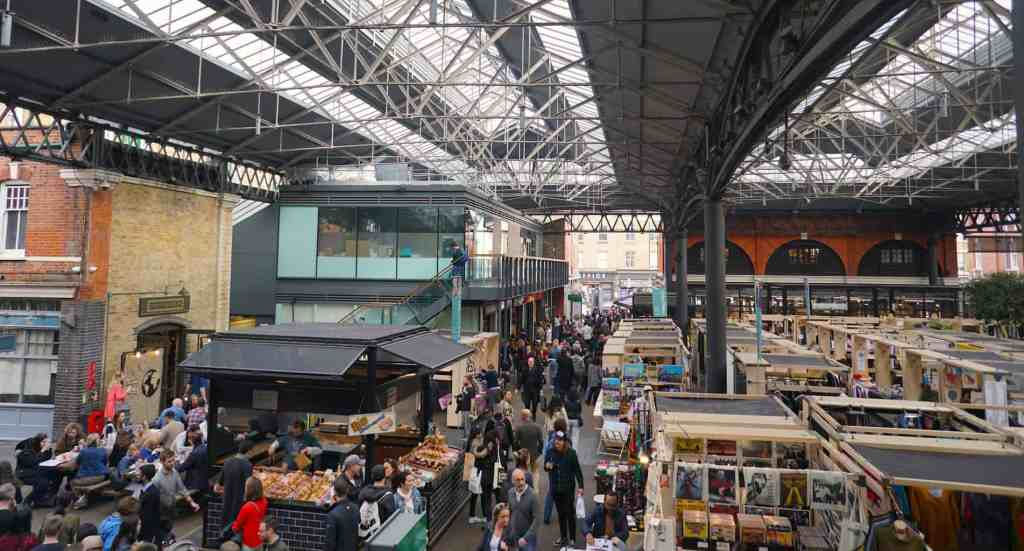A visit to Shoreditch would not be complete without a trip to the iconic, Spitalfields Market.