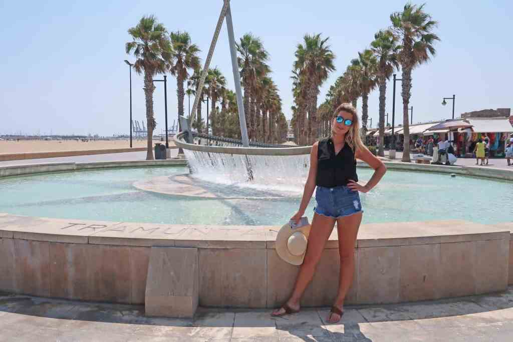 Platja del Cabanyal is one of the most beautiful beaches in Valencia,