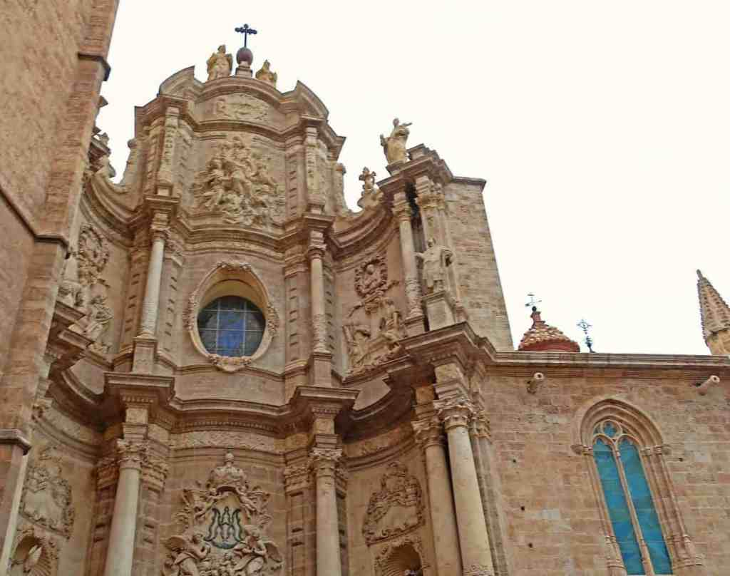 Some of the historic architecture that you'll find in the Plaza of the Virgin.