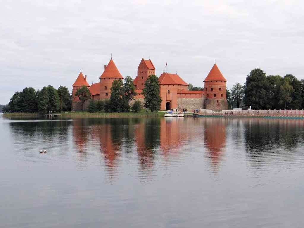 The perfect day trip from Vilnius is a day trip to Trakai Island Castle.
