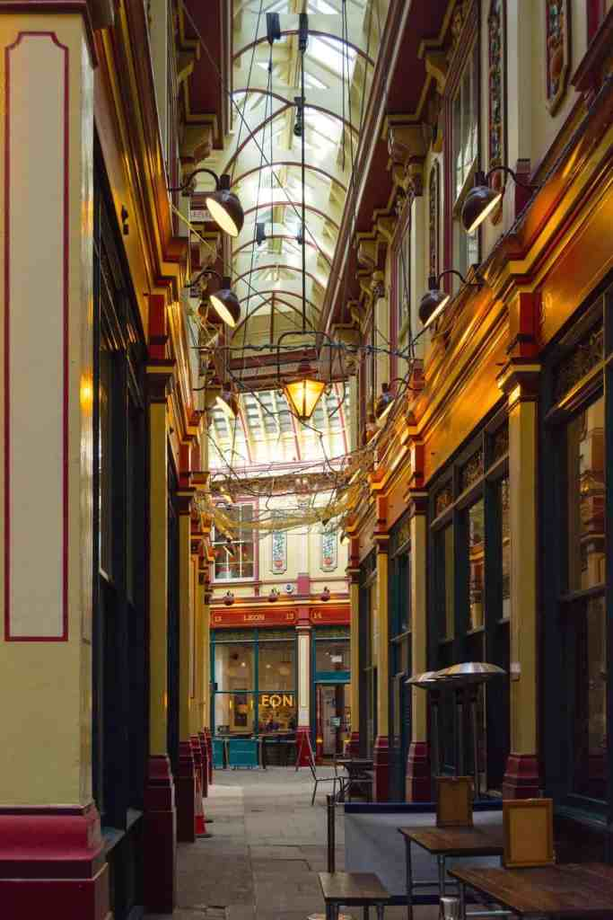 The ancient, architectural beauty of Leadenhall Market will always make one of those amazingly pretty places in London.