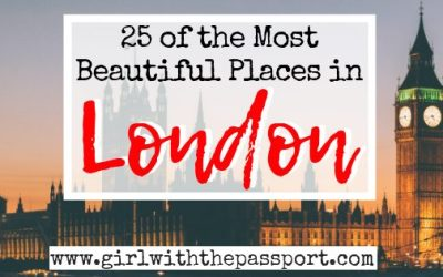 The 25 Prettiest Places in London