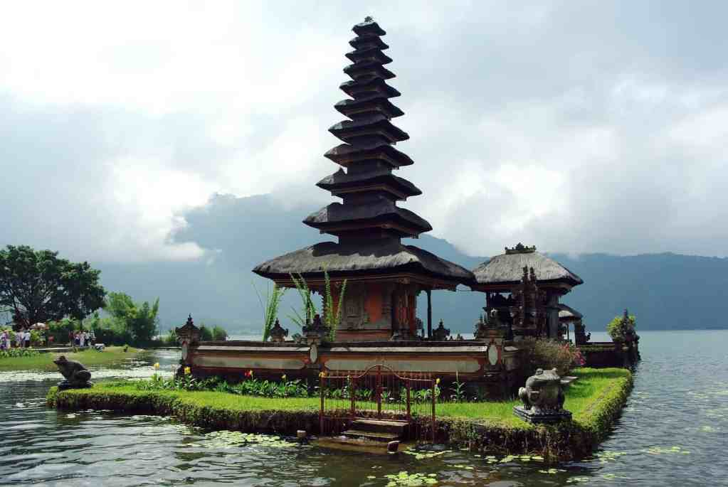 One of the many temples you'll find throughout Bali.