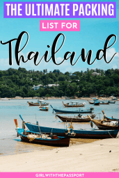 what to pack for Thailand | Thailand Packing List | What to wear in Thailand | Thailand Outfits | Thailand Packing Guide | Thailand Travel Guide | Thailand Travel Essentials | Thailand Travel Tips #ThailandGuide #ThailandTravel #VisitThailand #ThailandTips
