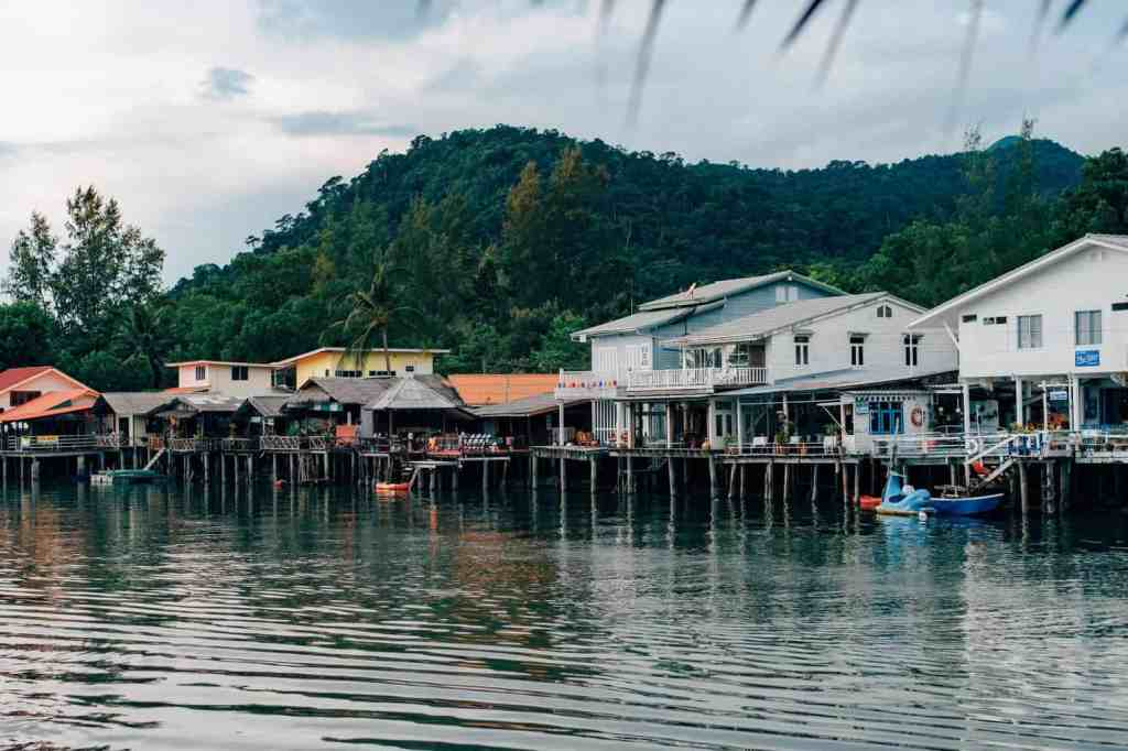 A beautiful view of Koh Chang in Thailand.
