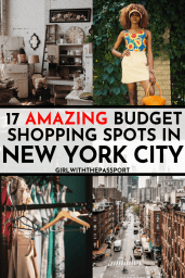 Looking to do some budget shopping in NYC? Then check out this local's guide to all of the best discount stores and thrift shops in New York City. #NYCshopping #discountshopping #BudgetNYC #NYCtravel #NYCstores