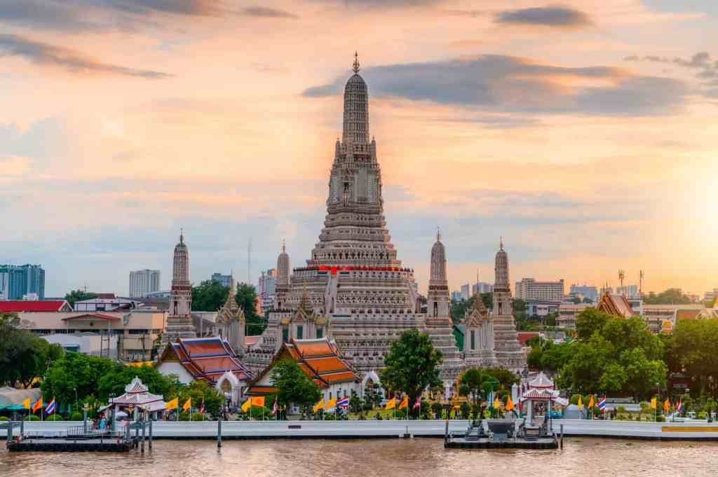 Wat Arun is an iconic part of Bangkok's skyline and a must see for anyone visiting Bangkok for the first time.