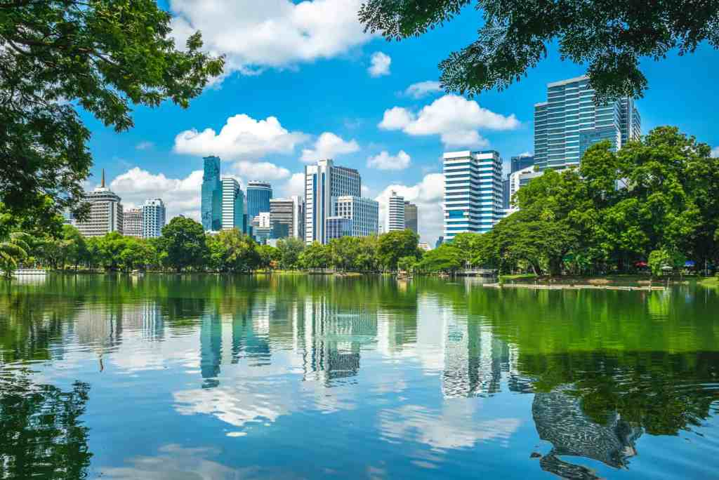 Lumphini Park is the largest green space in Bangkok and a great place to go if you want escape the frenetic pace of the city.