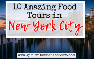 10 of the BEST food tours NYC has to offer (with secret tips from a local)!