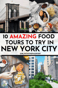 Food Tours NYC | NYC Food Guide | NYC Itinerary | Where to Go in NYC | Where to eat in NYC | Best food in NYC | Things to do in NYC | Places to go in NYC | New York City Food Guide | New York City Food Tours | Travel NYC | NYC Guide #NYCFoodie #VisitNYC #TravelNYC #NYCGuide